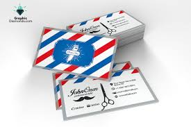 barbershop business cards barber shop business card flyer templates creative market