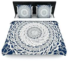 blue bed covers mandala spin navy blue white cotton duvet cover twin navy blue toddler bed