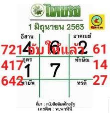 หวยเด็ด1/6/63' แฮชแท็ก ThaiPhotos: 17 ภาพ
