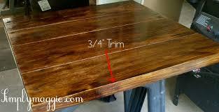 diy wide plank butcher block counter tops simplymaggie com with plywood countertop ideas designs 7