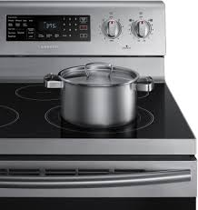 Gas Stainless Steel Cooktop Samsung Ne59m4320s 30 Inch Freestanding Electric Range With