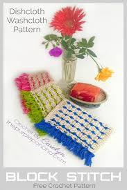 Block Stitch Crochet Pattern Magnificent Ideas
