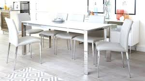 chrome glass dining table white glass dining table enthralling white frosted glass extending dining table chrome
