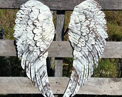 wall arts angel wings wall art unique shabby chic metal decor wing