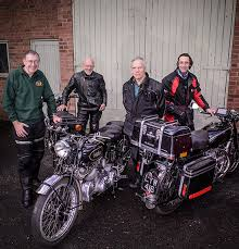 vincent motorcycles a very british story british motorcyclists