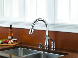 Delta Chrome Kitchen Faucets Faucetcom 978 We Dst Sd In Chrome By Delta