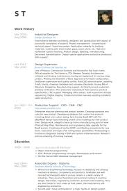 Industrial Designer Resume samples