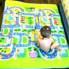 kids play rug with roads mat road map toys r us farm car favorite car play