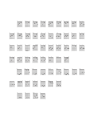 Guitar Chord Charts Sample Free Download