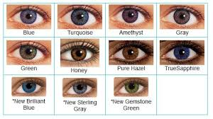 Acuvue Contacts Color Chart 32 Genuine Acuvue Contact Lenses Color Chart