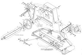 Woods rm59 1 rearmount finish mower spindle support assembly parts hover over image for expanded view at rm59 belt diagram