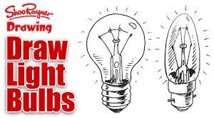Light Bulb Youtube How To Draw Light Bulbs