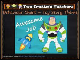 Behaviour Management Chart Toy Story Theme
