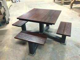 industrial style outdoor furniture. Outdoor Modern Industrial Style Picnic Table The Throughout For Campgrounds Wood Indus . Vintage Furniture 2