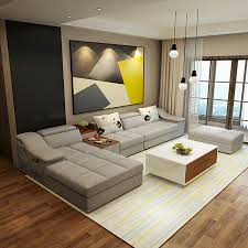 living room furniture chaise lounge. Living Room Furniture Modern L Shaped Fabric Sectional Sofa Set Design Couches For With Chaise Lounge T