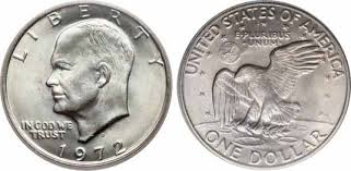 1972 Eisenhower Silver Dollar Value Chart Cogent Eisenhower Dollar Value Chart Value Of Eisenhower