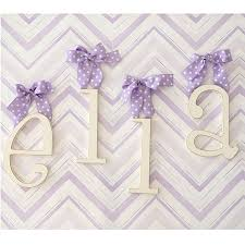 wooden letters for nursery new