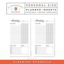 Housekeeper-Cleaning-Checklist-108Daily House Cleaning Schedule ...