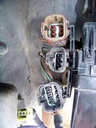 jgy s13 auto to manual swap nissan 240sx nissan sentra 350z the large 2 wire plug needs to be bridged to allow the car to start