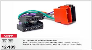 online buy whole ford wire harness from ford wire carav 12 109 iso f harness radio adapter for ford 1985 2005