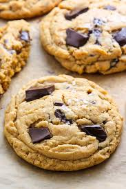 peanut butter cookies. Exellent Cookies Ultra Thick Soft Batch Peanut Butter Cookies Loaded With Chocolate Chunks  Perfect A Cup For Peanut Butter Cookies