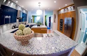 recycled glass countertops colorful upcycled surfaces within recycled glass kitchen countertops