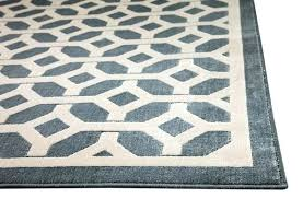 trendy area rugs modern light blue gray and ivory geometric rug