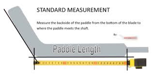 Goalie Pad Sizing Chart By Height How To Measure Goalie Stick Paddle Height Hockeystickman