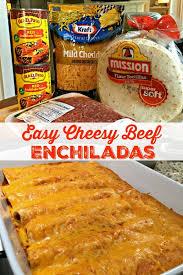 easy cheesy beef enchiladas 4