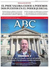 Las portadas de los periódicos del martes 23 de febrero de 2021
