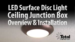sylvania ultra led disc light for ceiling lighting overview install total recessed lighting you