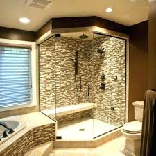 built in shower seat bench bathroom walk with ada dimensions