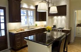What Color To Paint Kitchen With Dark Cabinets Best Decorating Ideas