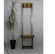 Small Coat Rack Stand Narrow Coat Stand Hallway Bijou Coat Rack With Seat And Shoe 31