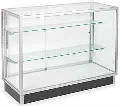 glass display case. Glass Cabinets: 4\u0027 Display Cases, Ships Unassembled Case I