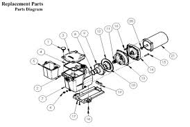 amazon com hayward sp2610x15 super pump 1 5 hp max rated single replacement parts diagram