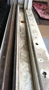 door sliding glass door repairs sliding door track repair awesome sliding glass door repairs sliding