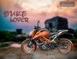 duke lover bike background for editing