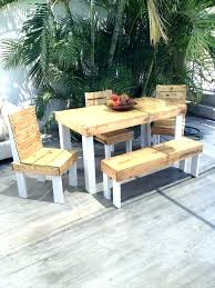 garden furniture from pallets. Pallet Outside Furniture Outdoor Out Of Pallets Set . Patio Garden From