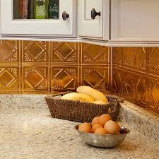 Copper Backsplash Kitchen Decor Tips Interesting Copper Backsplash For Kitchen Design