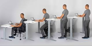 health benefits advantages of using a standing desk