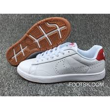 nike tennis classic ultra leather 36 44 white red top deals