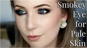 Best Eyeshadow For Light Skin Smokey Eye Makeup For Pale Skin Tips Tricks Tutorial