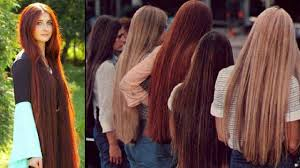 Really Long Hair Hairstyles Super Long Hair Women Beautiful Women With Long Hair Youtube