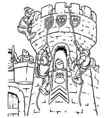 Kids N Funcom 20 Coloring Pages Of Castles