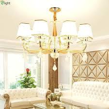 gold dining room chandelier modern re crystal led chandelier lighting gold metal dining room led pendant