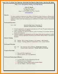 100 Resume Format Word File 100 Resume Samples Free Word