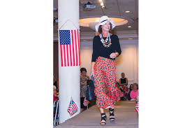 St. Barbara Greek Orthodox Church walks the runway for veterans - Ana Smith  models a casual look. | Your Observer