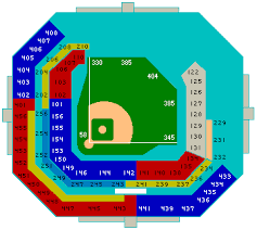 Marlins Seating Chart Dolphin Stadium Seating Chart Game Information