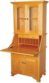 two drawer two door secretary desk with hutch indiana amish with amazing secretary desk hutch